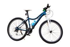 查出的自行车 免版税图库摄影