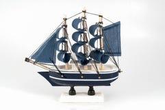 查出的船模 免版税库存图片