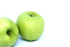 查出的苹果绿 免版税库存图片