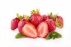 查出的草莓 图库摄影