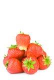 查出的草莓 库存图片