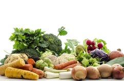 查出的蔬菜 免版税库存照片