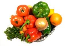 查出的蔬菜 免版税库存图片