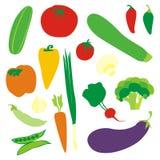 查出的蔬菜 免版税图库摄影