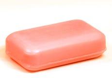 查出的部分肥皂洗手间 免版税库存照片
