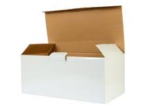 查出的配件箱纸板 图库摄影