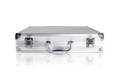 查出的金属盒 免版税图库摄影