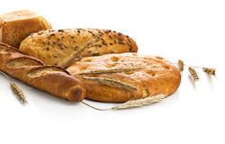 查出的面包新鲜 库存照片