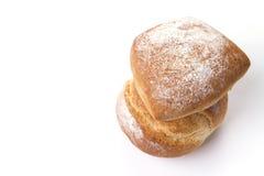 查出的面包 免版税库存照片
