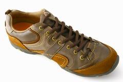 查出的鞋子白色 免版税库存照片