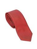 查出的领带红色白色 库存图片