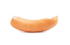 查出的香肠白色 库存照片