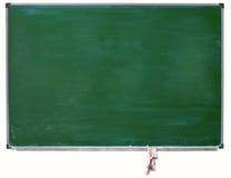 查出的黑板绿色 图库摄影