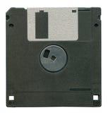查出的黑色磁盘 免版税图库摄影