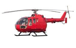 查出的直升机 免版税库存照片