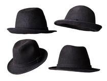 查出的黑帽会议 库存图片