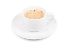 查出的cappucino杯子 库存图片