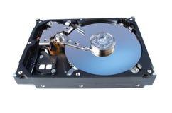 查出的disassemled光盘坚硬 免版税图库摄影