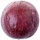 查出的passionfruit 免版税图库摄影