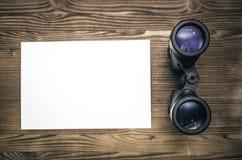 查寻信息模板 库存照片