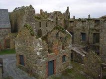 查尔斯堡废墟 免版税库存图片