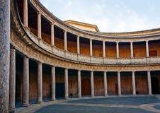 查尔斯庭院宫殿v 免版税库存图片