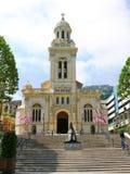 查尔斯教会摩纳哥圣徒 免版税库存图片