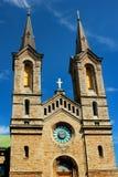 查尔斯教会Kaarli kirik,一个路德教会在塔林,爱沙尼亚 库存图片