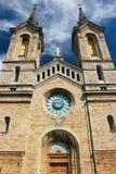 查尔斯教会Kaarli kirik,一个路德教会在塔林,爱沙尼亚 免版税库存图片