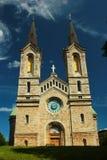 查尔斯教会Kaarli kirik, 19世纪一个路德教会在塔林,爱沙尼亚 免版税库存照片
