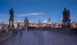 查尔斯桥梁在布拉格 免版税库存图片