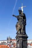 查尔斯桥梁在布拉格 库存照片