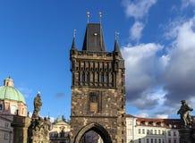 查尔斯桥梁,布拉格 免版税图库摄影