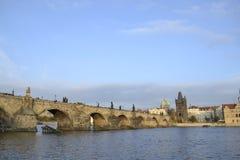 查尔斯桥梁 免版税库存照片