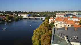 查尔斯桥梁 Karluv多数布拉格 库存图片