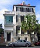 查尔斯顿有历史的房子 库存图片