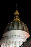 查尔斯顿,西维吉尼亚-状态国会大厦大厦 免版税库存照片