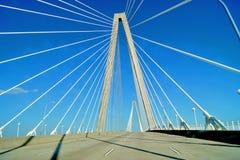 查尔斯顿Ravenel桥梁 图库摄影
