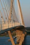 查尔斯顿S.C.亚瑟Ravenel Jr.索桥 库存图片