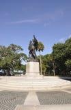 查尔斯顿SC, 8月7日:查尔斯顿的同盟防御者的纪念碑从查尔斯顿的在南卡罗来纳 图库摄影