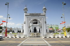 查希尔清真寺a K Masjid查希尔在吉打 库存图片
