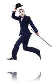 查理・卓别林的拟人 免版税图库摄影
