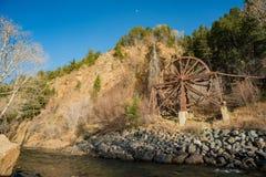 查理Tayler在爱达荷春天的水轮 免版税库存图片