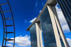 查看白天新加坡。 库存照片