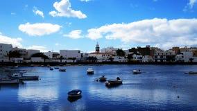 查科de圣GinA©ss,兰萨罗特岛 免版税图库摄影