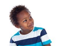 查寻可爱的美国黑人的孩子 库存图片