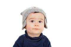 查寻可爱的婴孩 免版税库存照片