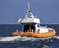 查寻和抢救意大利人小船细节  库存照片