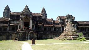 柬埔寨与塔的寺庙大厦 图库摄影