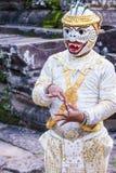 柬埔寨人Apsara舞蹈家 图库摄影